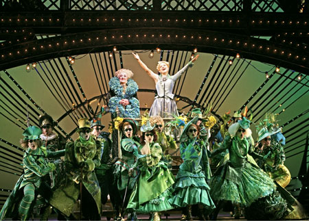 Maggie Kirkpatrick and Lucy Durack in WICKED.